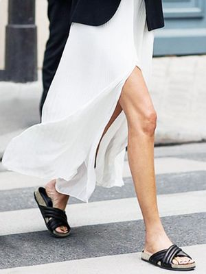 Behold: Summer's Most Comfortable (and Stylish) Slides