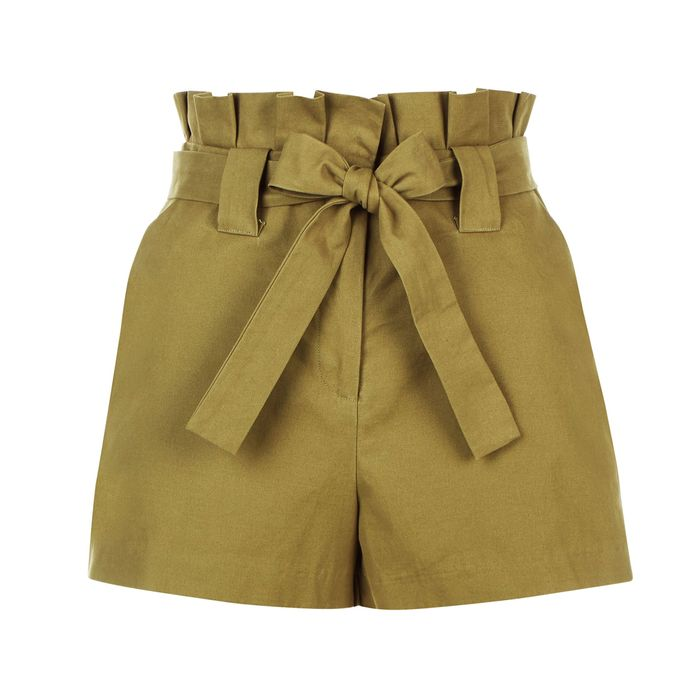 OWNTHELOOK.COM Tie-Waist Shorts