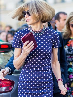Anna Wintour Completely Changed Her Style at Her Daughter's Bridal Shower