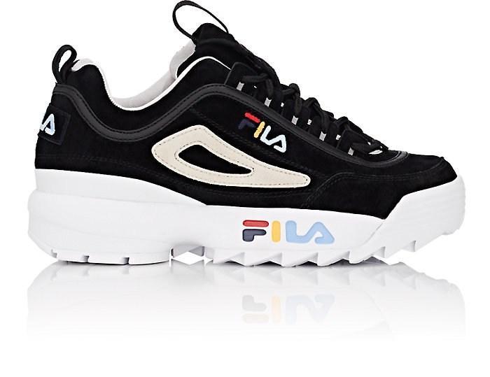 fila women's disruptor 2 lux leather sneakers