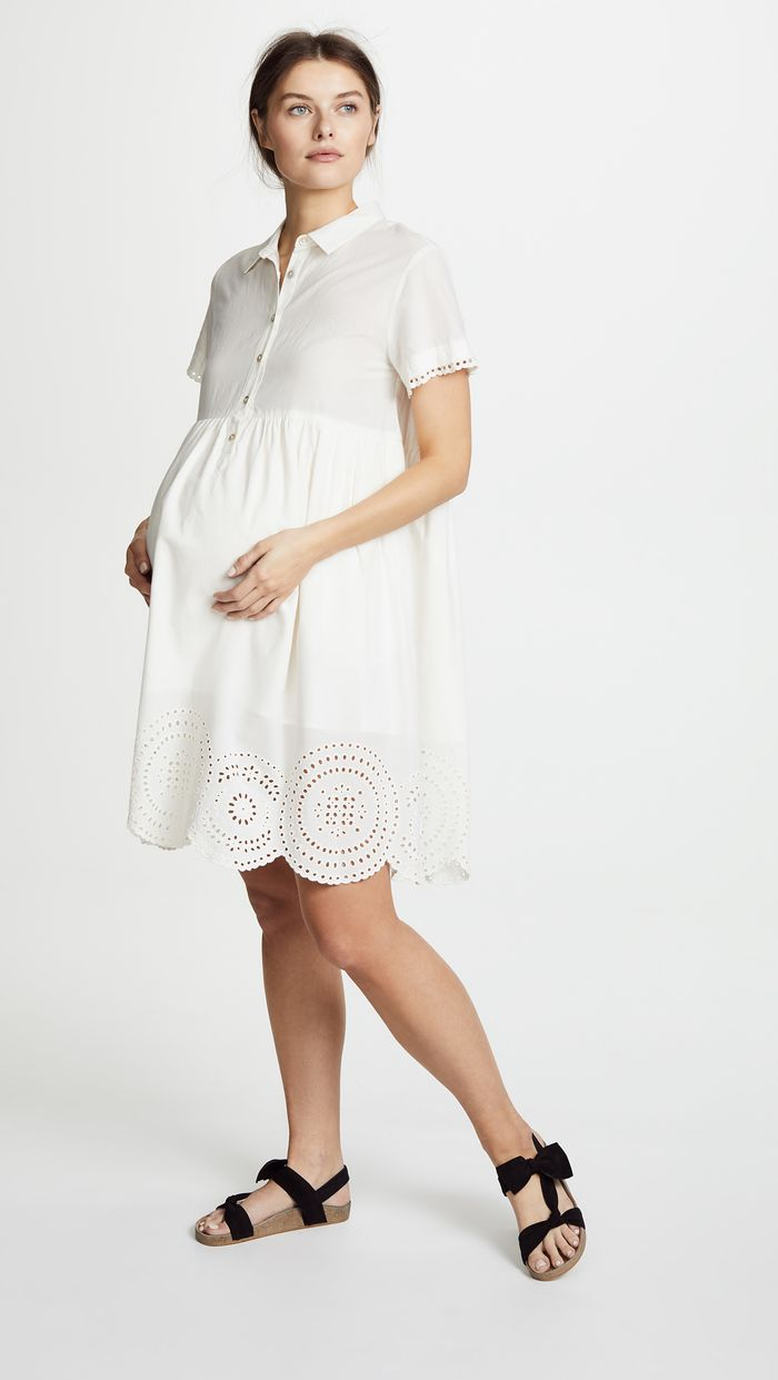 4 Stylish Maternity Dresses to Wear to Your Baby Shower  Who
