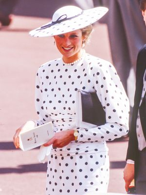 Reminder: This Is What Princess Diana Wore to Ascot in the '80s