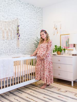 Step Inside a Contemporary Boho-Inspired Nursery