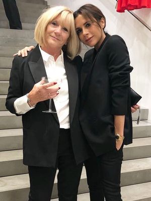 Victoria Beckham and Her Mom Wore the Chicest Matching Outfits