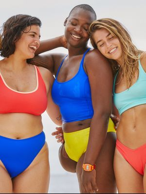 One 10,000 Person Waiting List Later, and Outdoor Voices' Swim Line Has Arrived