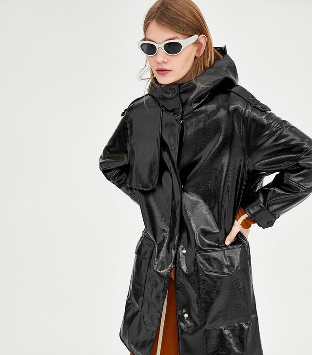 Zara Water Repellent Raincoat