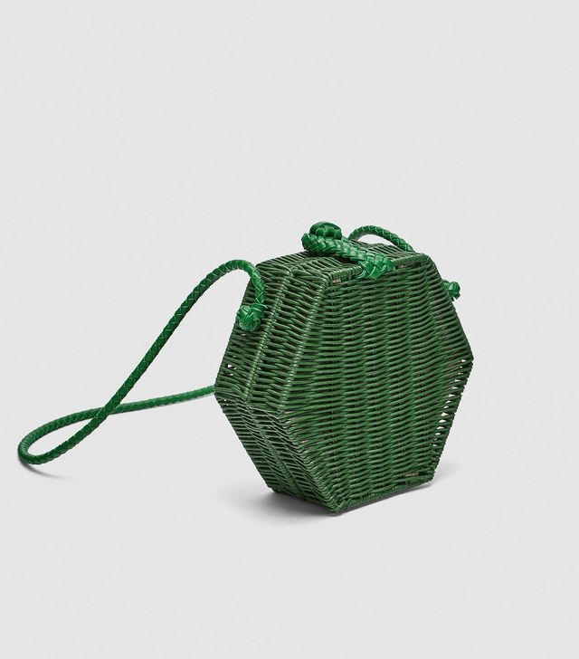 Zara Hexagonal Crossbody Bag