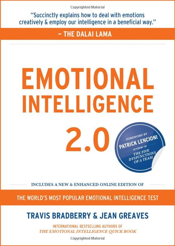 Travis Bradberry and Jean Greaves Emotional Intelligence 2.0