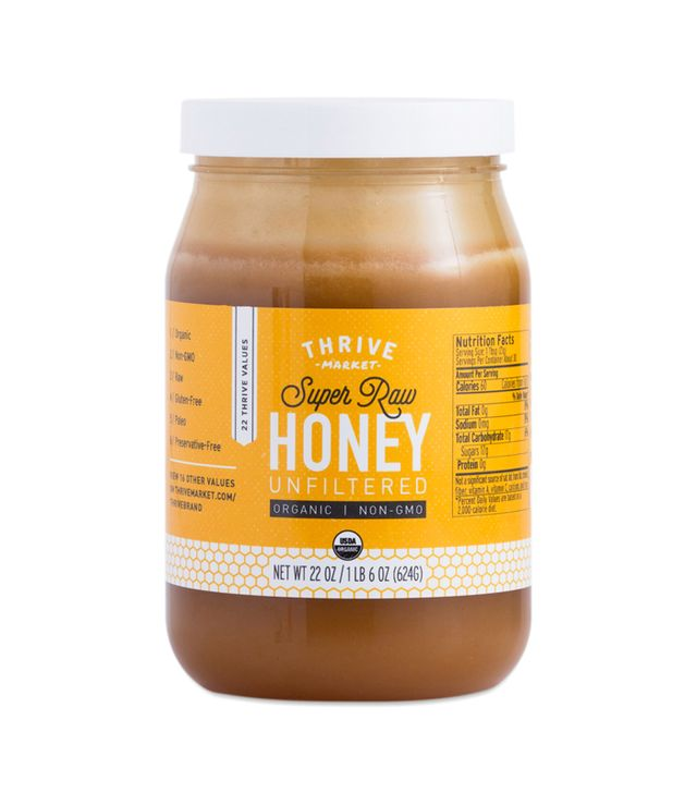 Thrive Market Organic Raw Unstrained Honey