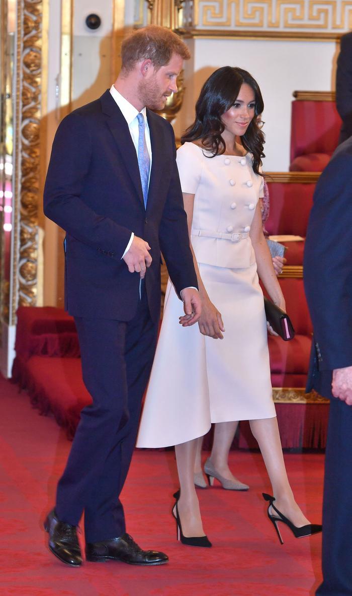 Meghan Markle at Buckingham Palace