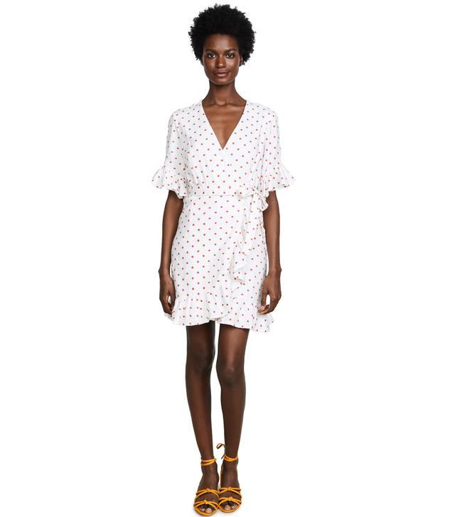 Faenza Flutter Wrap Dress