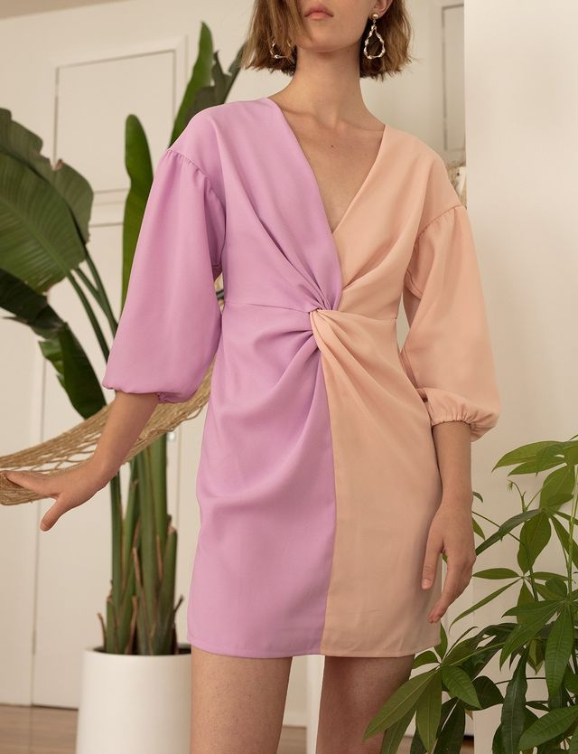 Pixie Market Vision Twist Dress