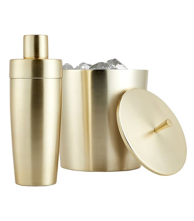 Neil Champagne Gold Ice Bucket