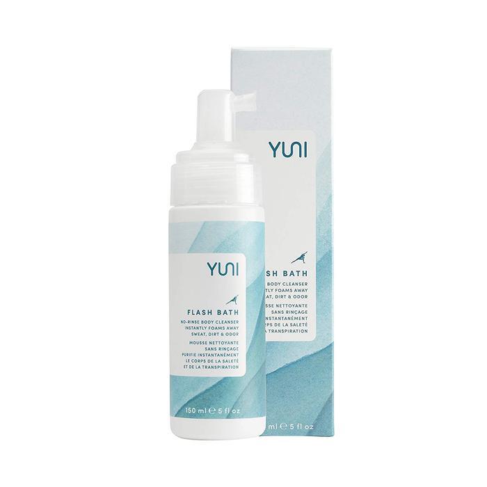 Flash Bath No-Rinse Body Cleansing Foam by Yuni