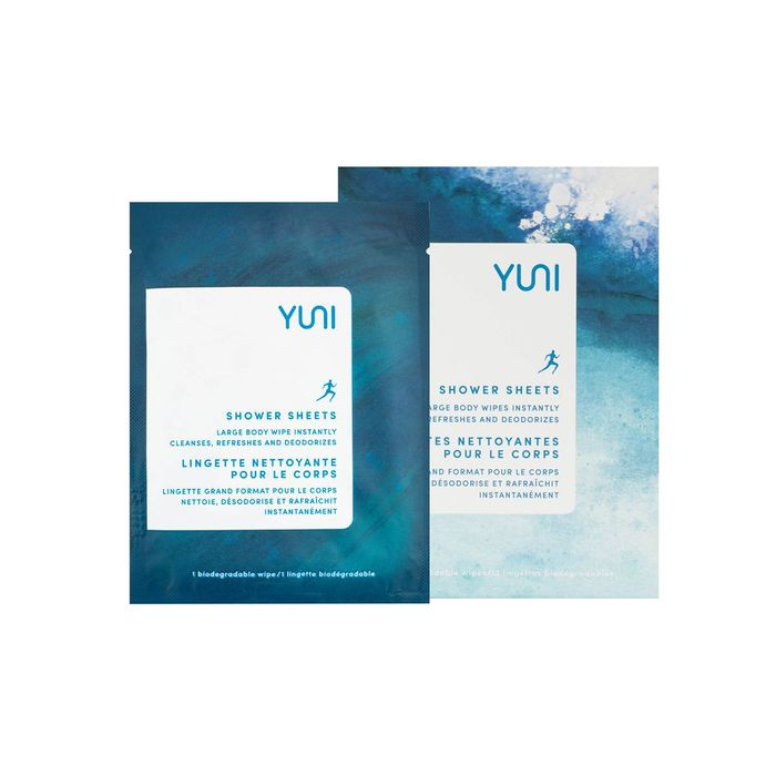 Shower Sheets Large Body Wipes by Yuni