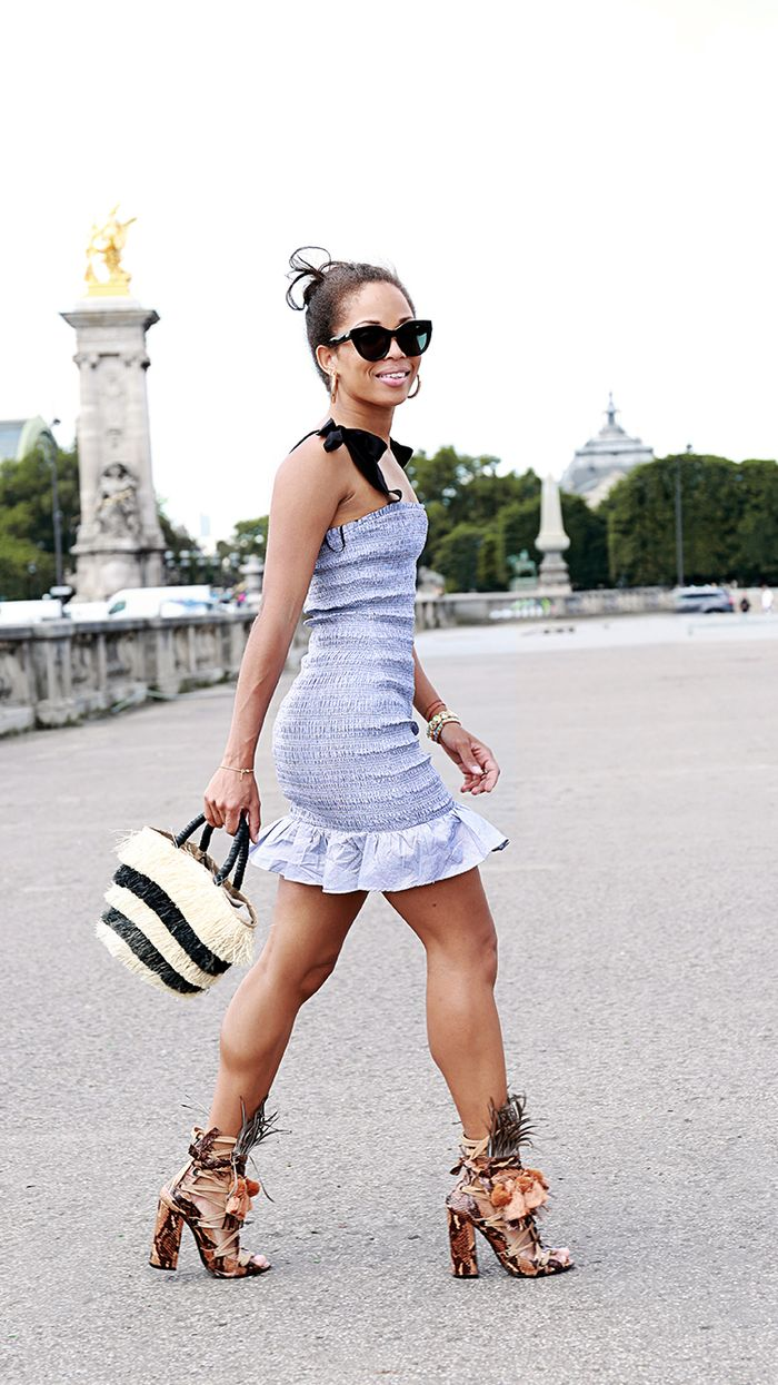 How to Dress Boldly: Summer Dress and Heels