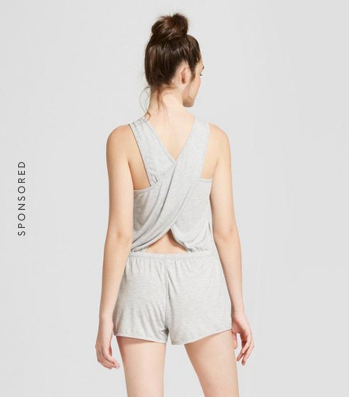 Cross Back Yoga Romper by JoyLab