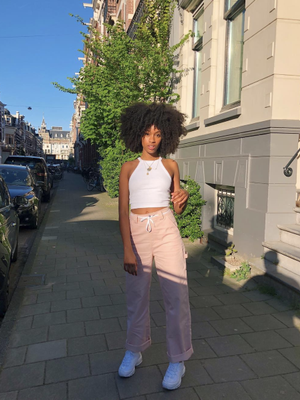 Swap Your Leggings for This Cool Streetwear Trend
