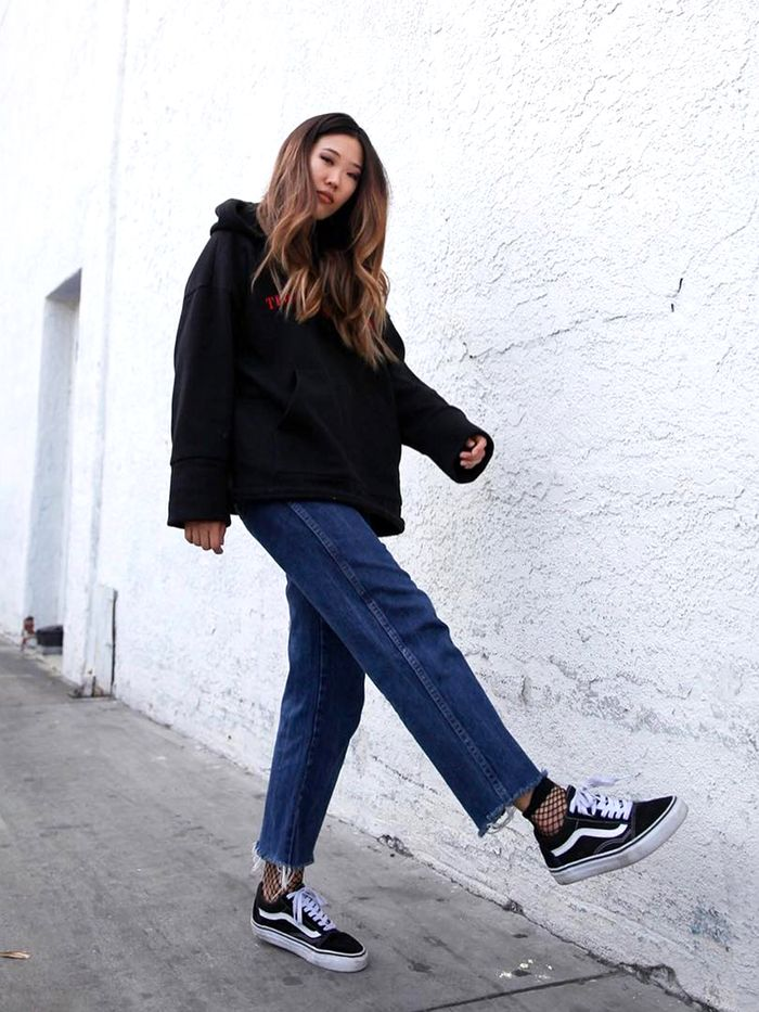 Here's How to Wear Vans Like the Fashion Crowd | Who What Wear