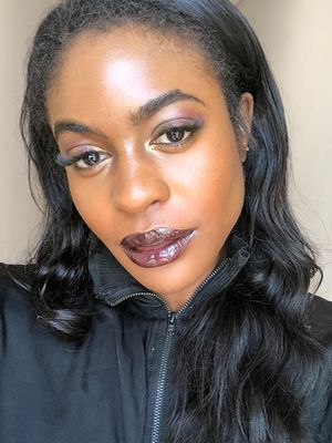 Here's What a Full Face of Glam Using the Aaliyah MAC Collection Looks Like