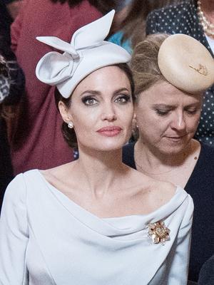 Angelina Jolie Borrowed Meghan Markle's Royal Style