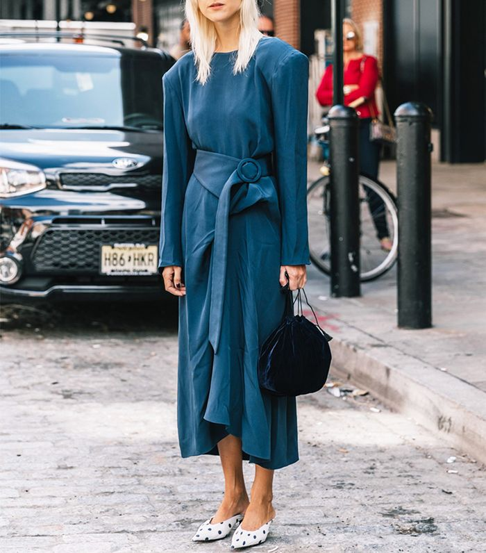 Shoes to Wear With Summer Midi Dresses