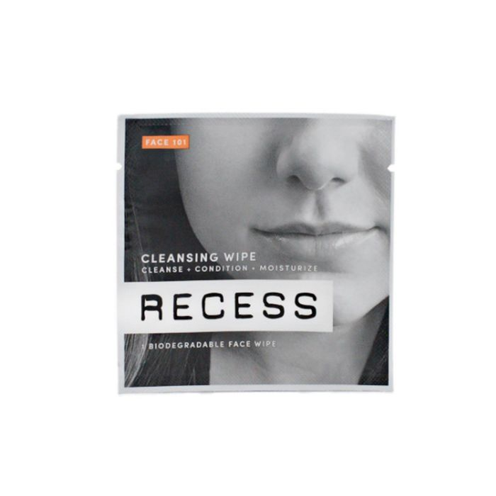 Pack 101: Face + Body Wipes by Recess