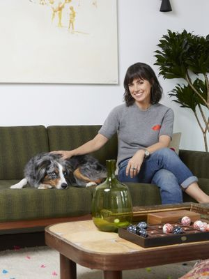 Step Inside Actress Constance Zimmer's Eclectic Los Angeles Home