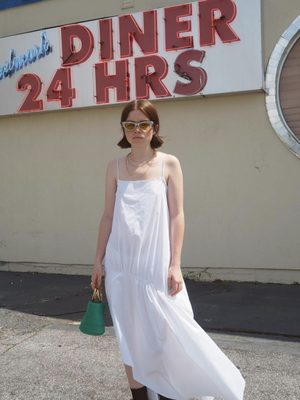 19 Linen Dresses to Wear When It's 90 Degrees