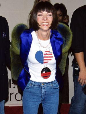 6 Rare Times Anna Wintour Wore Jeans