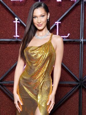Bella Hadid's Slinky Red Carpet Look Is as Hollywood as It Gets