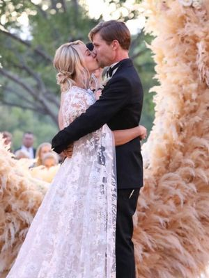 ICYMI: Kaley Cuoco Got Married in a Cape and a Jumpsuit