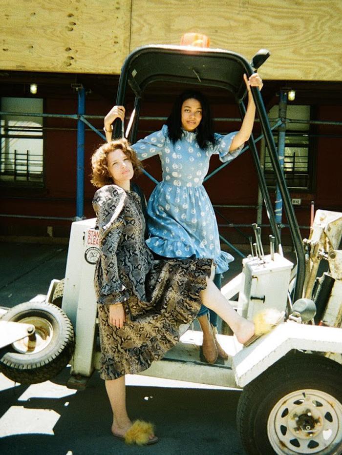 Dress designer Batsheva Hay