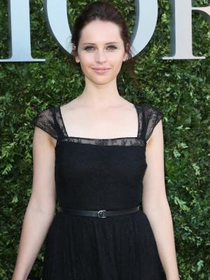 Felicity Jones Secretly Got Married in the Prettiest Sheer Dress
