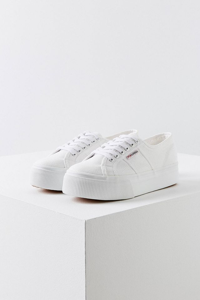 Superga 2790 Linea Platform Sneaker - Black 9 1/2 at Urban Outfitters