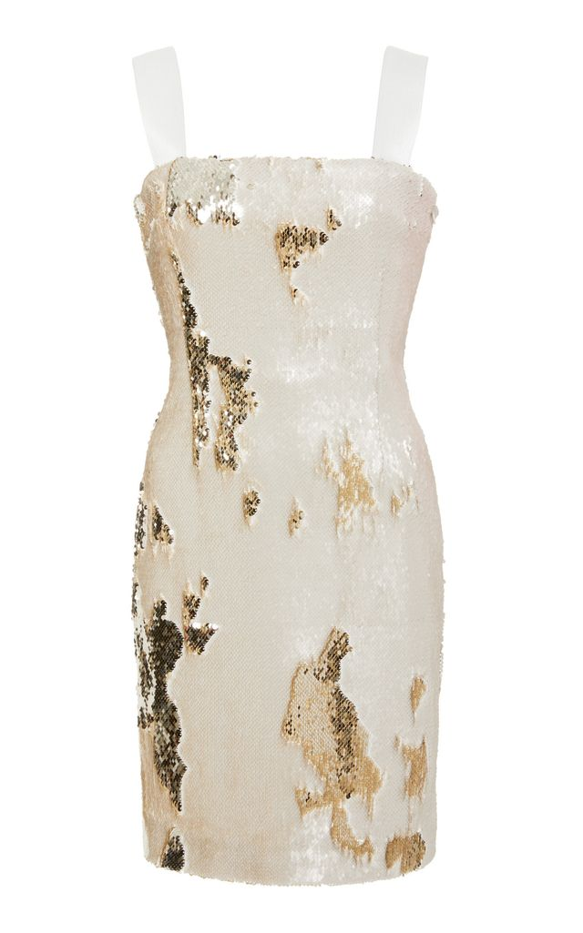 Luna Metallic Dress in Metallic Gold. - size L (also in M,S,XS)