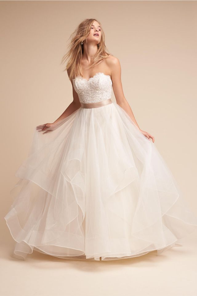 These Are the Best Wedding Dress Materials | WhoWhatWear AU