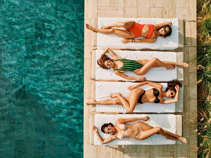 history of swimwear street style