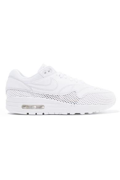 Nike Air Max 1 Si Leather And Mesh Sneakers