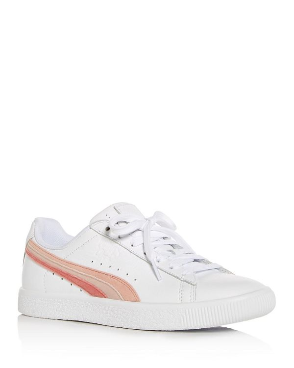 Women's Clyde Leather Lace Up Sneakers