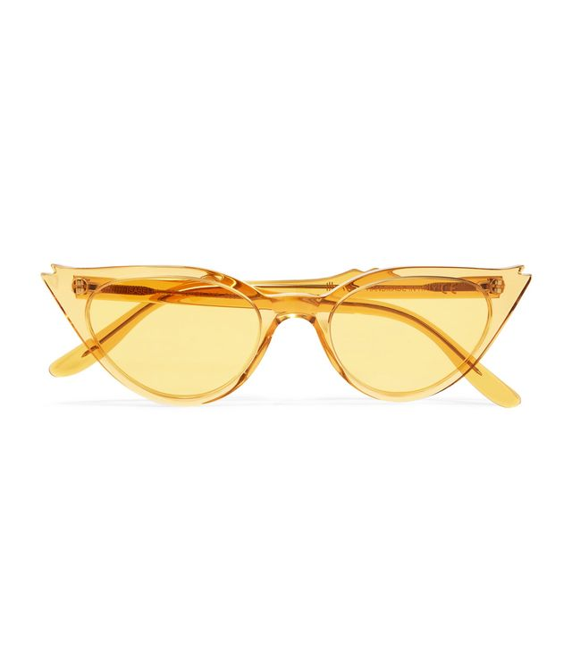 Isabella Cat-eye Acetate Sunglasses