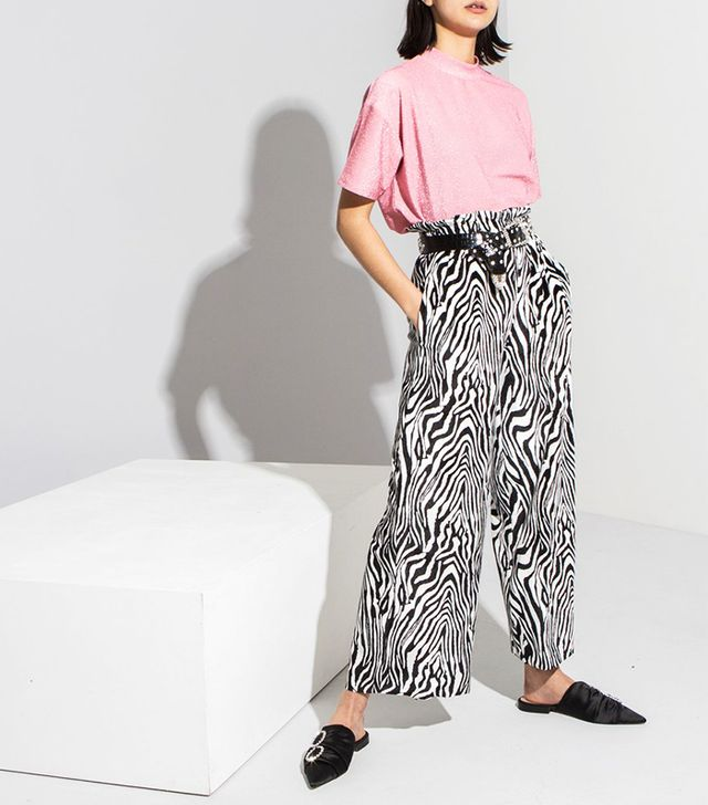 Oh Hey Girl Zebra Trousers