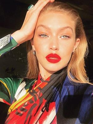 Gigi Hadid's Makeup Has Been Looking Different Lately—Can You Spot the Change?