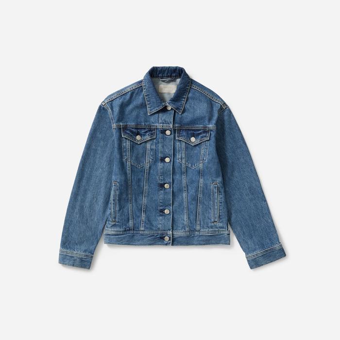 Blue Wash Jacket Denim Capsule Wardrobe