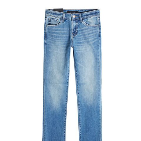 Jeans With Distressed Ankles