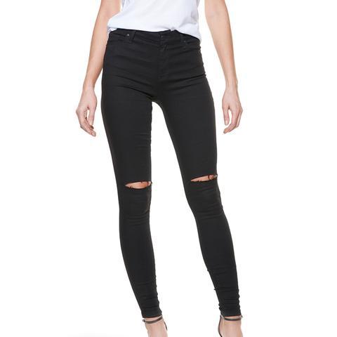 High Rise Skinny Jeans in Bond