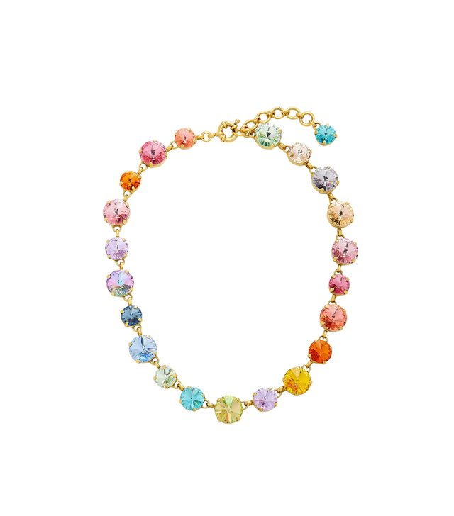Swarovski Crystal And Gold-Plated Necklace