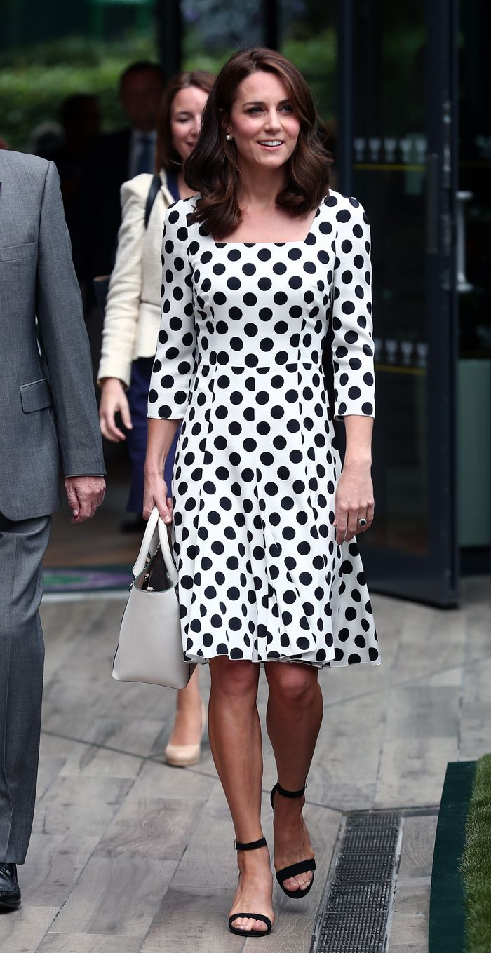 Kate Middleton's outfit at Wimbledon