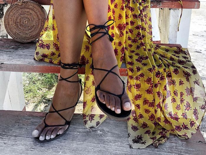 zara sandals under $100 street style