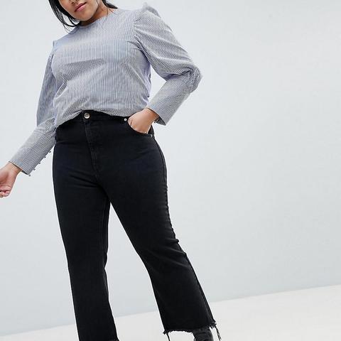 Egerton Rigid Cropped Flare Jeans